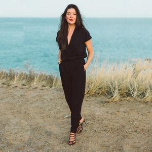 NYDJ Black Jumpsuit